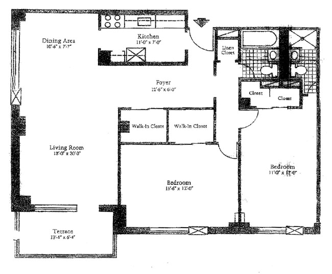 400 Central Park West, Upper West Side, NYC, $725,000, Web #: 296702