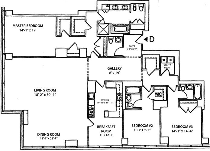 East 58th Street, Midtown East, NYC, $45,000, Web #: 3127644