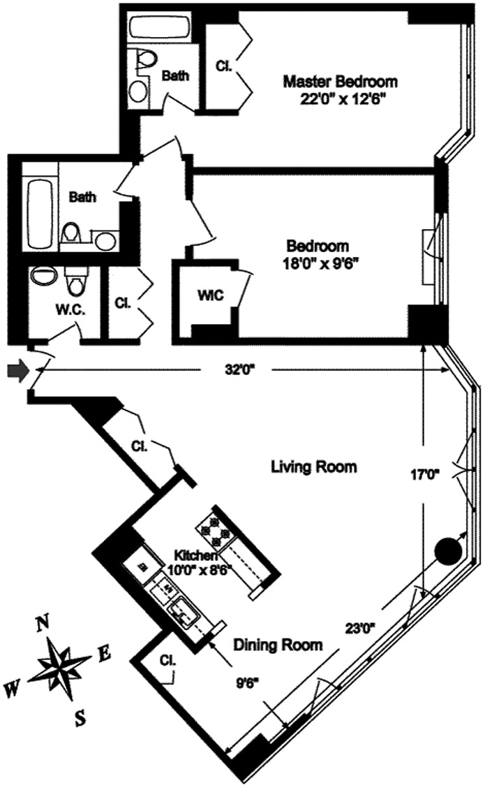 First Avenue, Midtown East, NYC, $5,500, Web #: 3134844