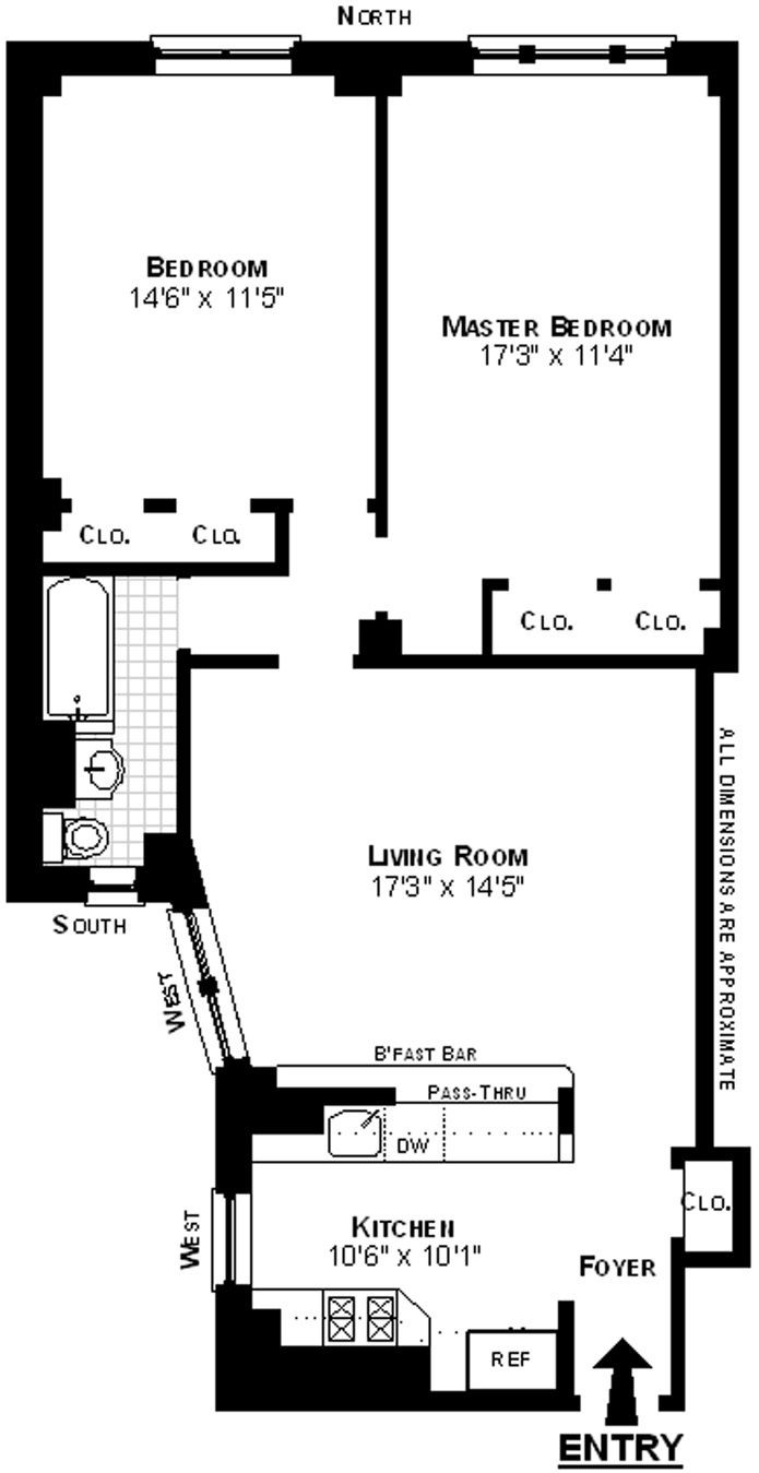 40 West 84th Street, Upper West Side, NYC, $960,000, Web #: 3176706
