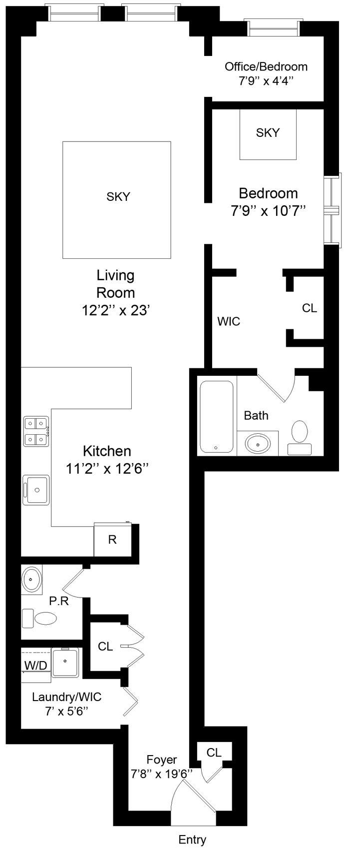 44 West 22nd Street, Greenwich Village/Chelsea, NYC, $1,075,000, Web #: 3183579