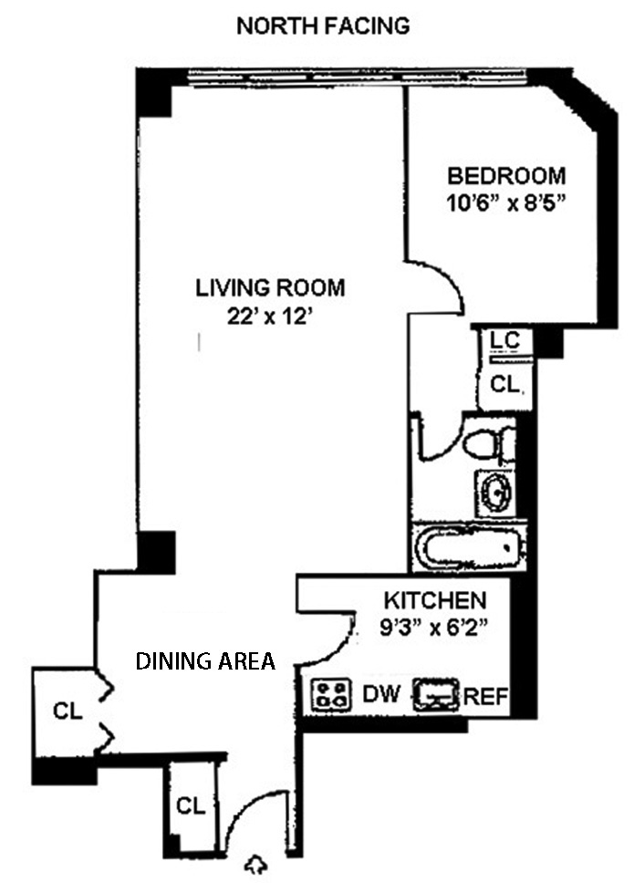 520 East 72nd Street 8P, Upper East Side, NYC, $355,000, Web #: 3222550