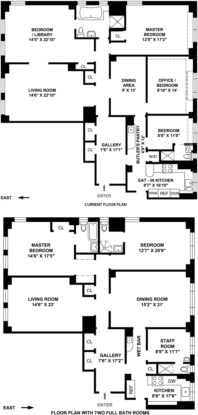 277 West End Avenue, Upper West Side, NYC, $1,655,000, Web #: 3281648