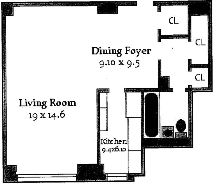 315 East 72nd Street, Upper East Side, NYC, $325,000, Web #: 3350782