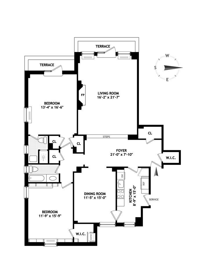 450 West End Avenue, Upper West Side, NYC, $2,450,000, Web #: 3393128