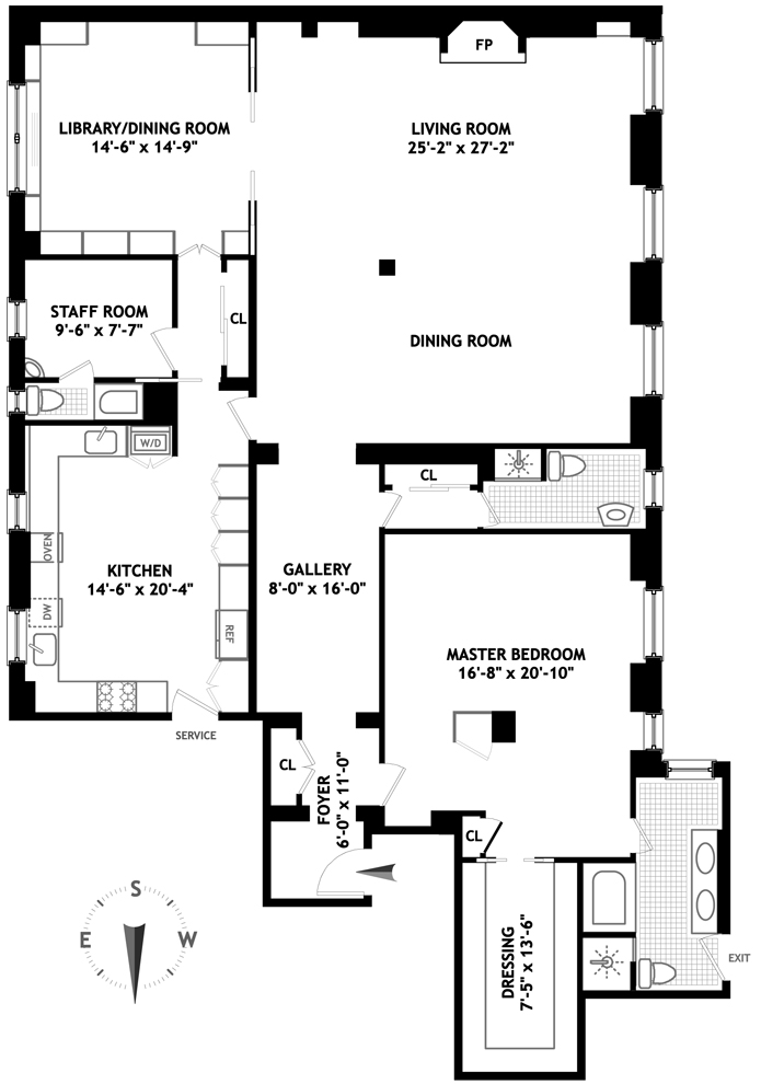 655 Park Avenue, Upper East Side, NYC, $3,100,000, Web #: 3460486