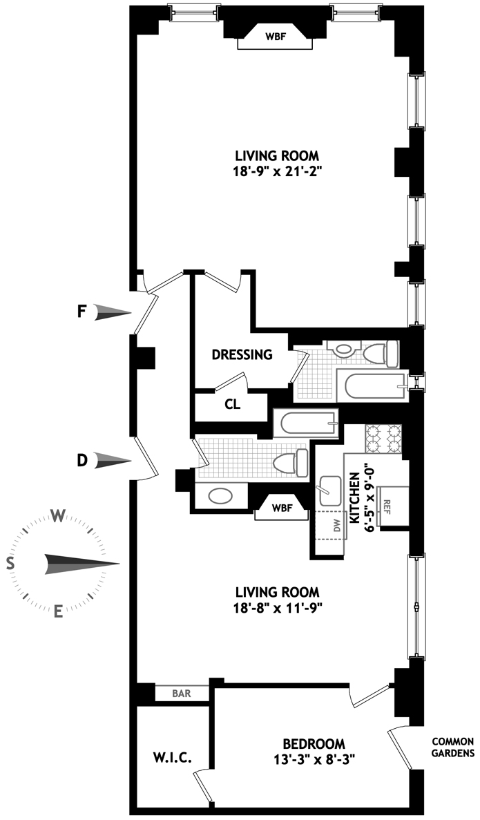 10 Mitchell Place, Midtown East, NYC, $687,500, Web #: 3497918