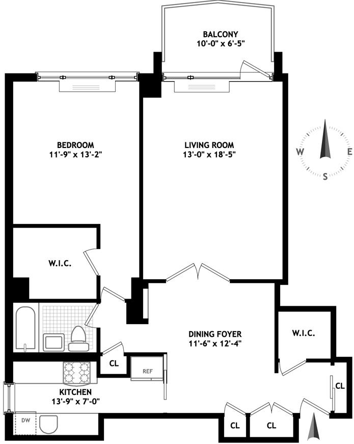118 East 60th Street, Upper East Side, NYC, $660,000, Web #: 3533059