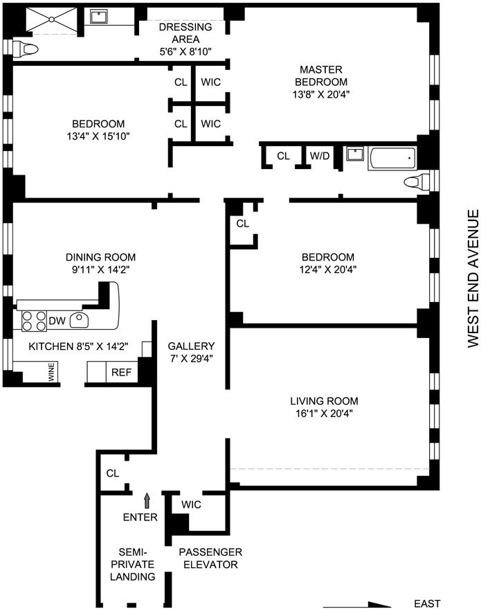 685 West End Avenue, Upper West Side, NYC, $2,525,000, Web #: 3544110