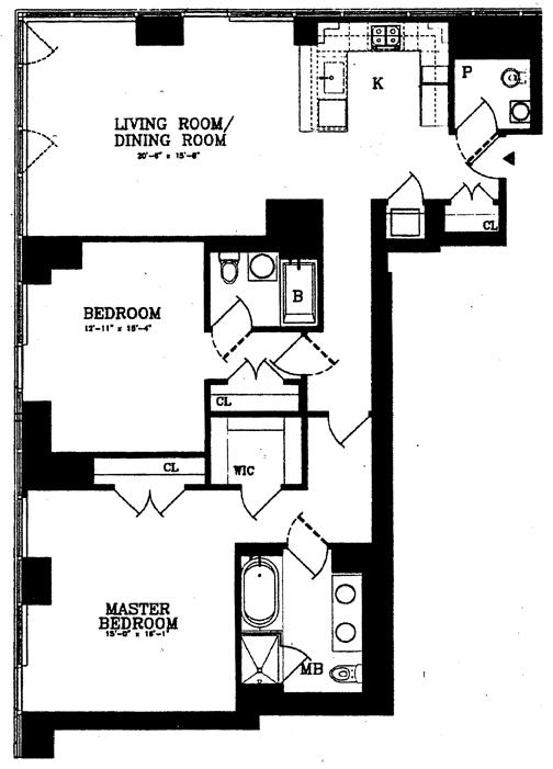 247 West 46th Street, Midtown West, NYC, $2,450,000, Web #: 3563856