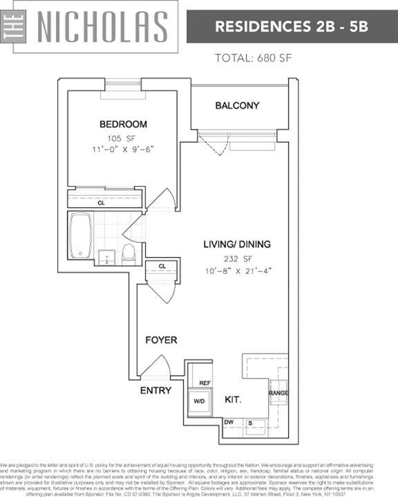 753 St Nicholas Avenue, Morningside Heights/Harlem, NYC, $351,000, Web #: 3579238