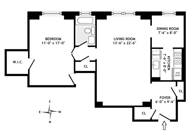 14 Sutton Place South, Midtown East, NYC, $675,000, Web #: 360496