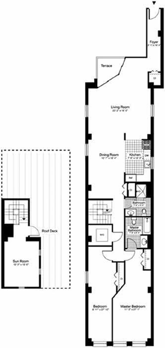 36 Laight Street, Tribeca/SOHO/Chinatown, NYC, $11,000, Web #: 3610180