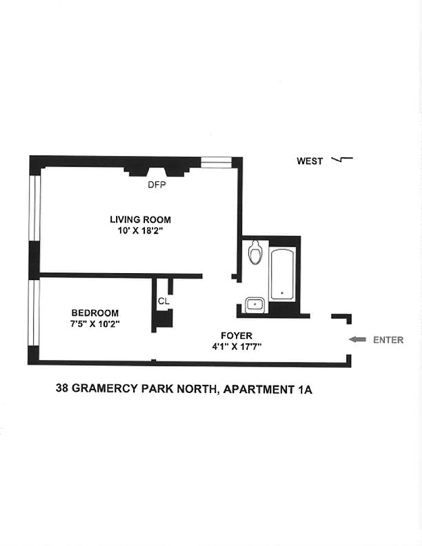 38 Gramercy Park, Flatiron/Gramercy Park, NYC, $475,000, Web #: 3623800
