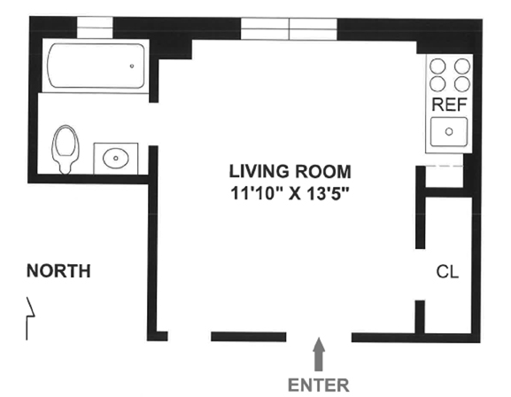 38 Gramercy Park, Flatiron/Gramercy Park, NYC, $305,000, Web #: 3623834