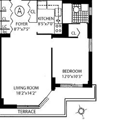 520 East 72nd Street Pha, Upper East Side, NYC, $525,000, Web #: 3666667