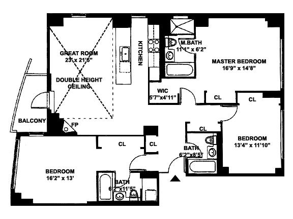 205 East 59th Street, Midtown East, NYC, $2,450,000, Web #: 3682231