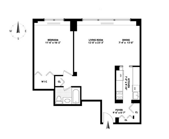 345 East 73rd Street, Upper East Side, NYC, $540,000, Web #: 3685169