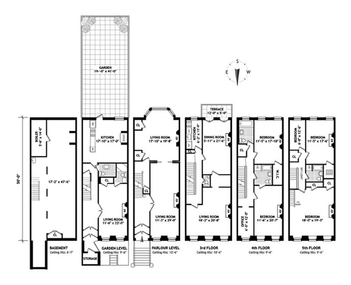East 61st Street, Upper East Side, NYC, $7,000,000, Web #: 3707196