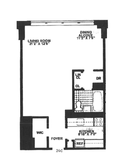 160 West End Avenue, Upper West Side, NYC, $379,000, Web #: 3749677
