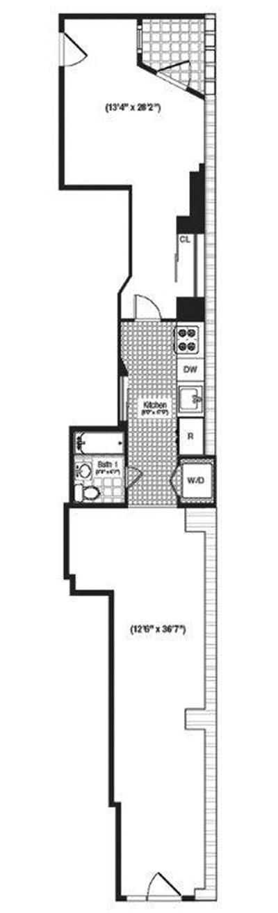 36 Laight Street 1A, Tribeca/SOHO/Chinatown, NYC, $4,980, Web #: 3811585