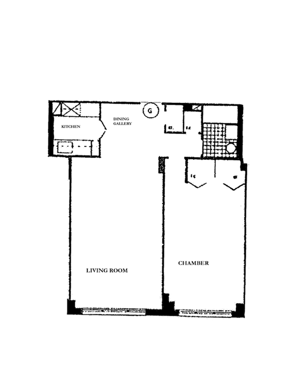 61 Jane Street, West Village, NYC, $940,000, Web #: 3824543