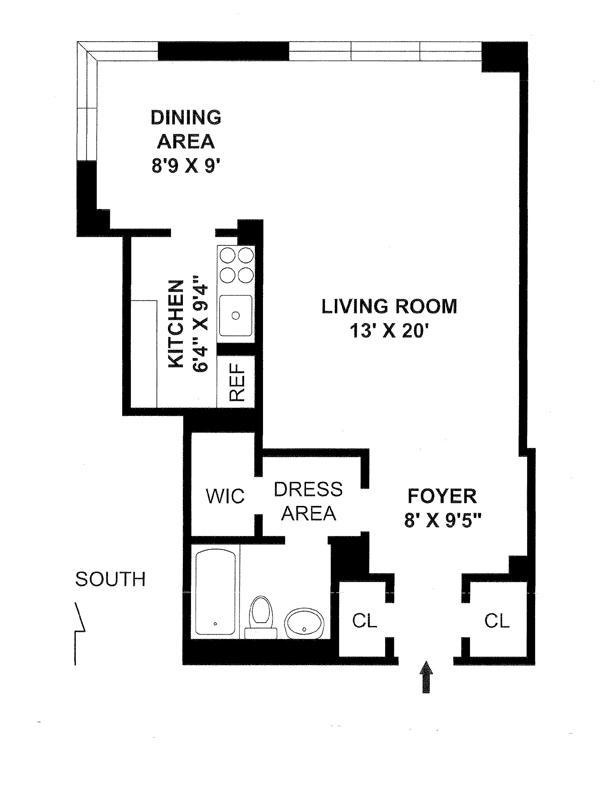 7 Lexington Avenue, Flatiron/Gramercy Park, NYC, $660,000, Web #: 3918867