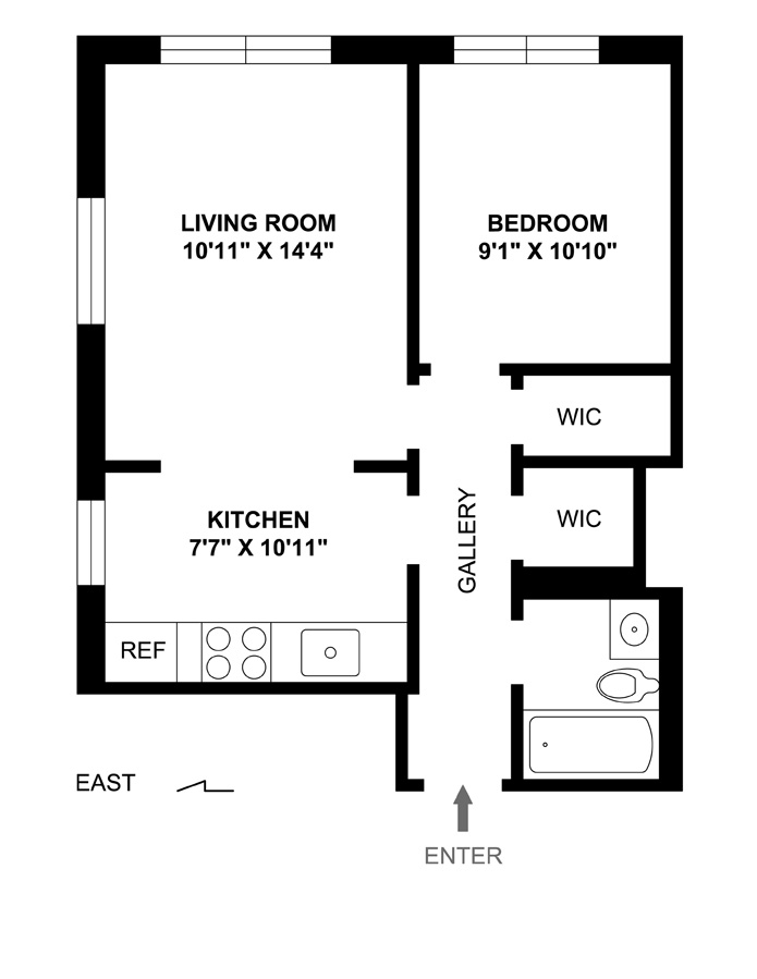 38 Gramercy Park, Flatiron/Gramercy Park, NYC, $656,500, Web #: 3972001