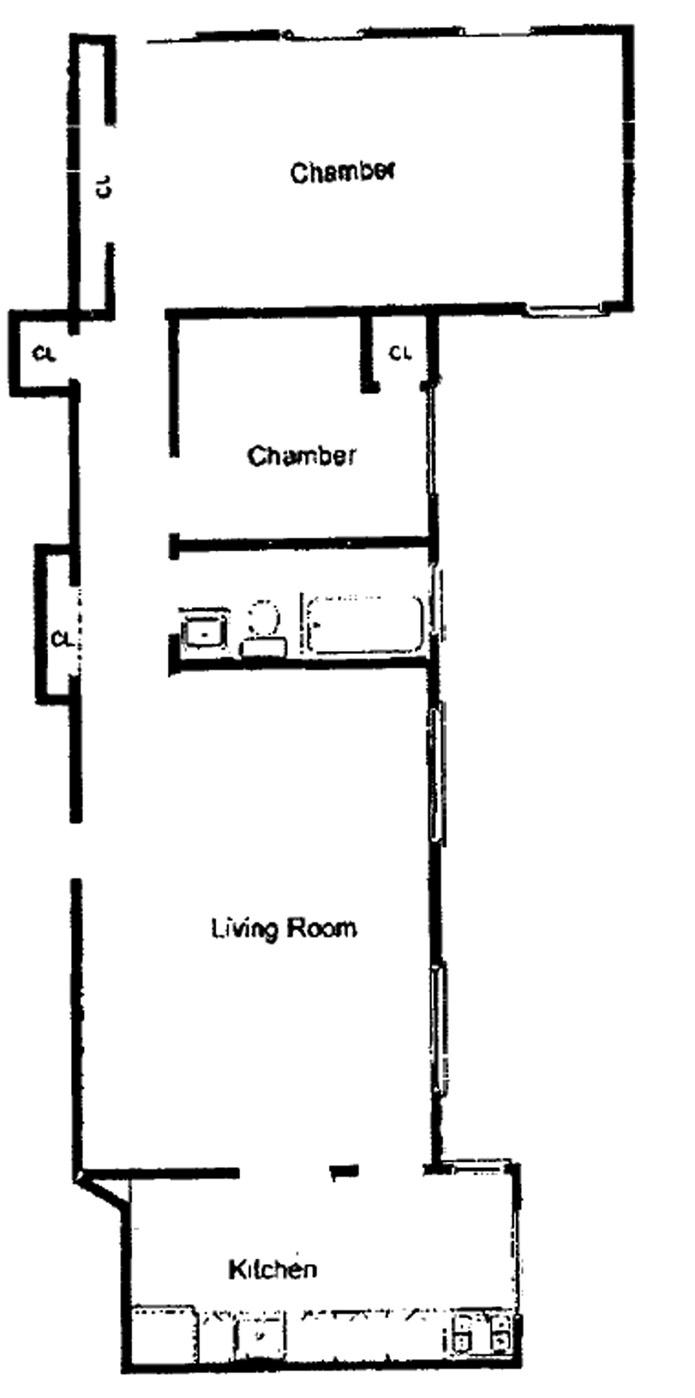 West 11th Street, Greenwich Village/Chelsea, NYC, $5,500, Web #: 4010970
