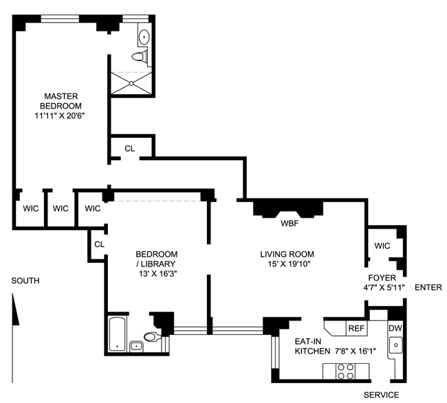 14 Sutton Place South, Midtown East, NYC, $1,065,000, Web #: 401876