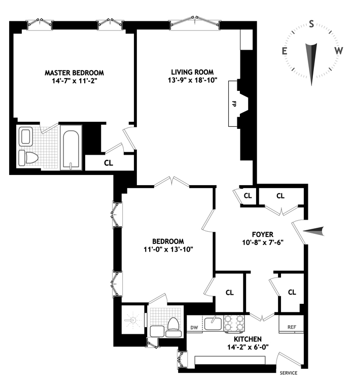444 East 52nd Street, Midtown East, NYC, $889,000, Web #: 4038493