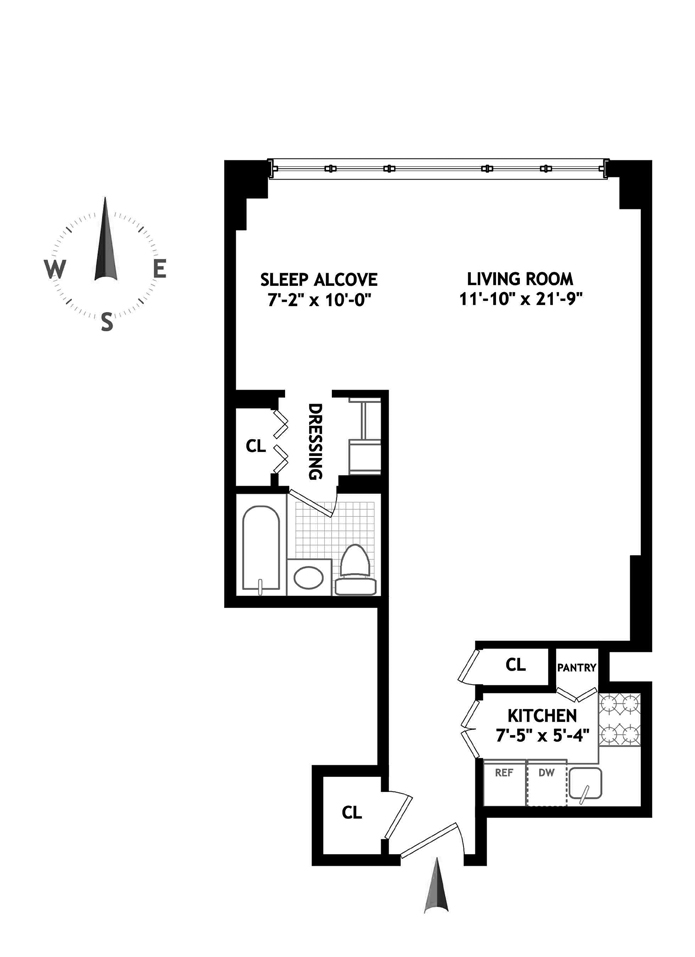 435 East 65th Street, Upper East Side, NYC, $363,288, Web #: 4055807
