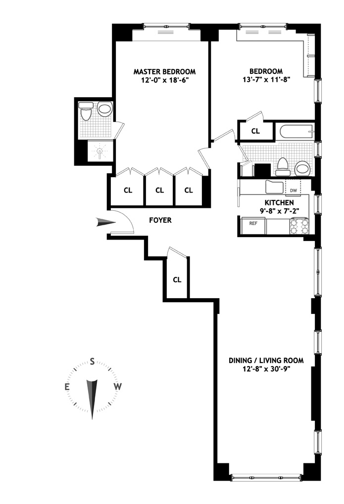 50 Sutton Place South, Midtown East, NYC, $1,025,000, Web #: 4064194