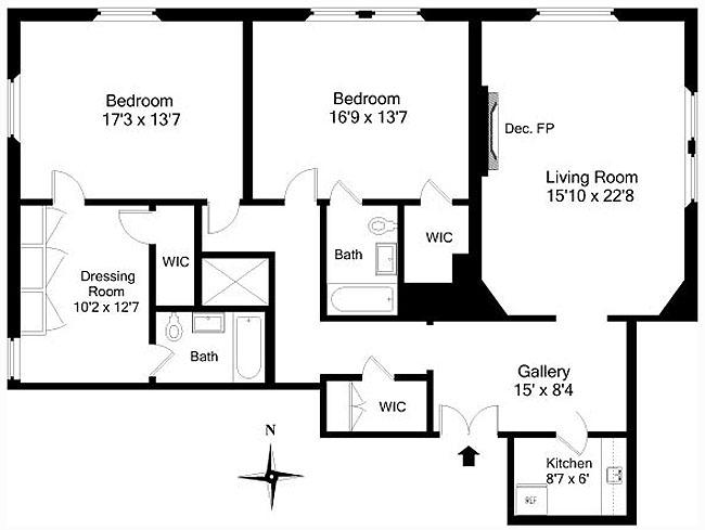 795 Fifth Avenue, Upper East Side, NYC, $2,425,000, Web #: 445706