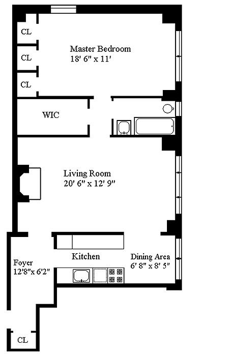 315 East 68th Street, Upper East Side, NYC, $650,000, Web #: 462982