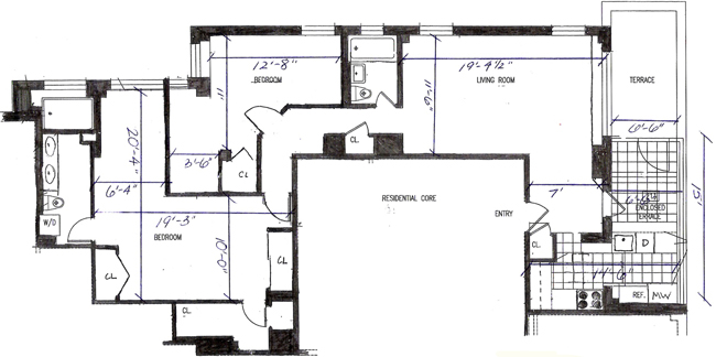 460 East 79th Street, Upper East Side, NYC, $1,395,000, Web #: 591060