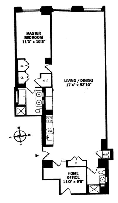 15 Broad Street, Financial District, NYC, $1,755,000, Web #: 738925
