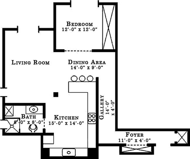 165 Christopher Street, West Village, NYC, $775,000, Web #: 761512
