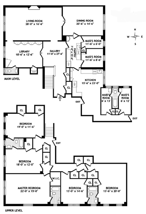 941 Park Avenue, Upper East Side, NYC, $12,500,000, Web #: 791553