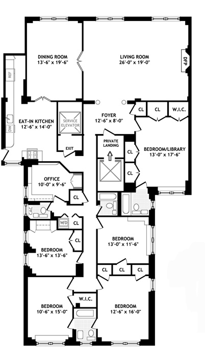 993 Park Avenue, Upper East Side, NYC, $4,850,000, Web #: 793758