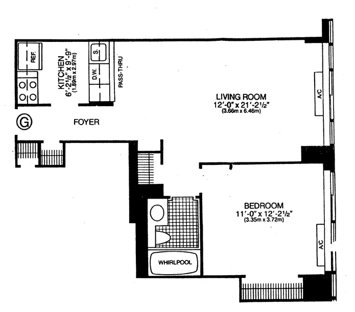Fifth Avenue, Midtown East, NYC, $3,200, Web #: 8508774