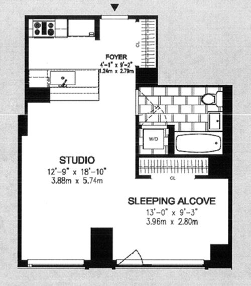 200 West End Avenue 6K, Upper West Side, NYC, $825,000, Web #: 8526132