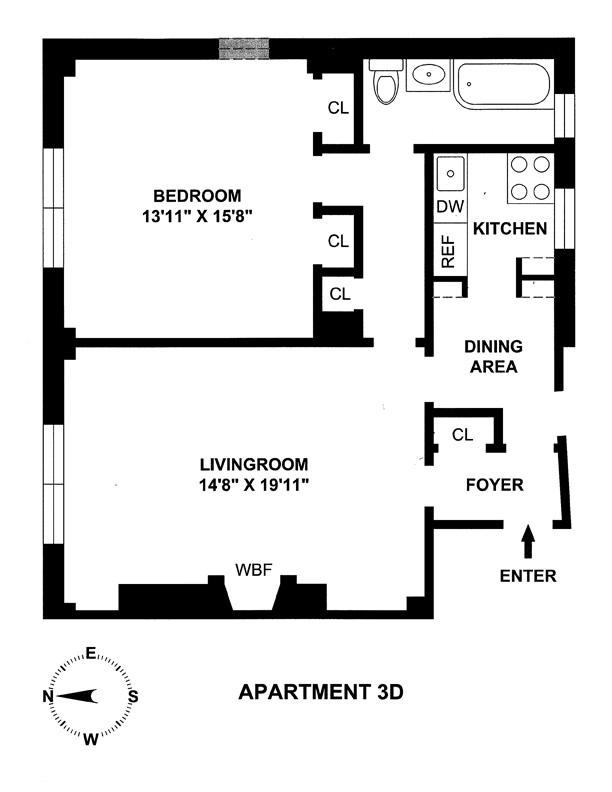 163 East 81st Street, Upper East Side, NYC, $600,000, Web #: 8587328