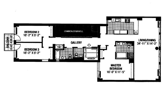 330 East 57th Street, Midtown East, NYC, $2,850,000, Web #: 8734315