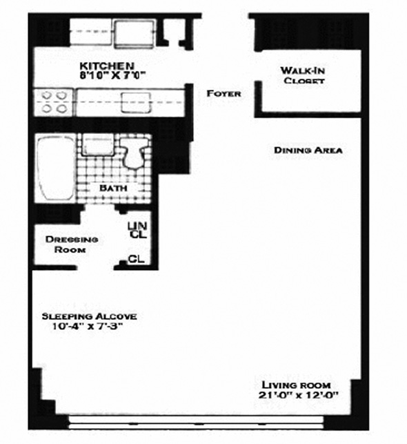 160 West End Avenue, Upper West Side, NYC, $405,000, Web #: 8805864