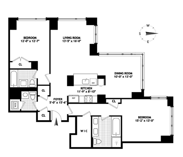 200 West End Avenue, Upper West Side, NYC, $2,425,000, Web #: 8851454