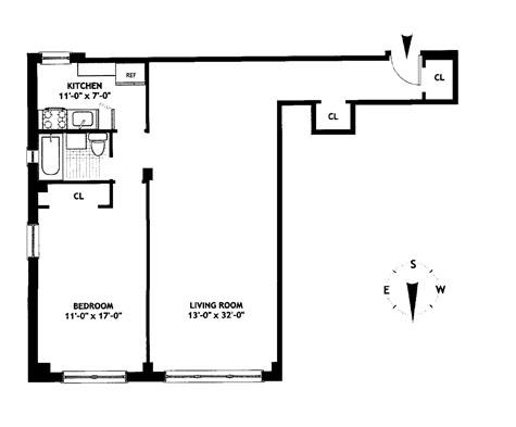 54 West 16th Street, Greenwich Village/Chelsea, NYC, $820,000, Web #: 9062116
