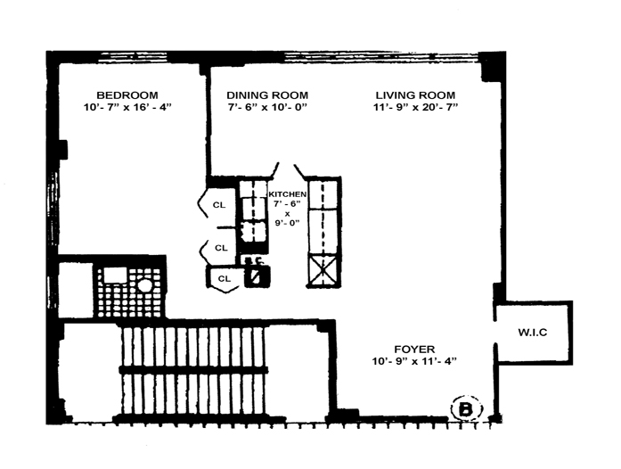 130 East 18th Street, East Village, NYC, $895,000, Web #: 9068320