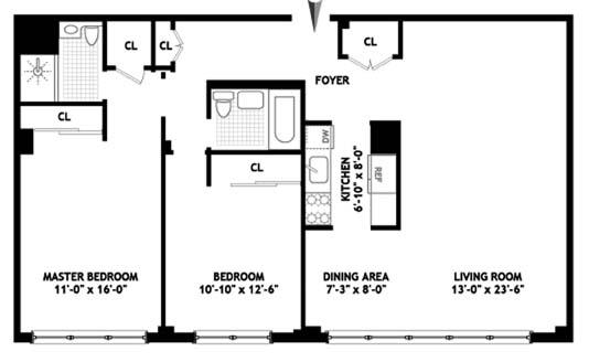 239 East 79th Street, Upper East Side, NYC, $1,200,000, Web #: 9076720