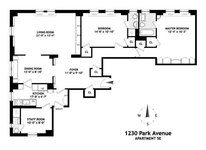 1230 Park Avenue, Upper East Side, NYC, $1,795,000, Web #: 9094062